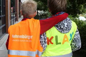 Klax Schule am World-Cleanup-Day